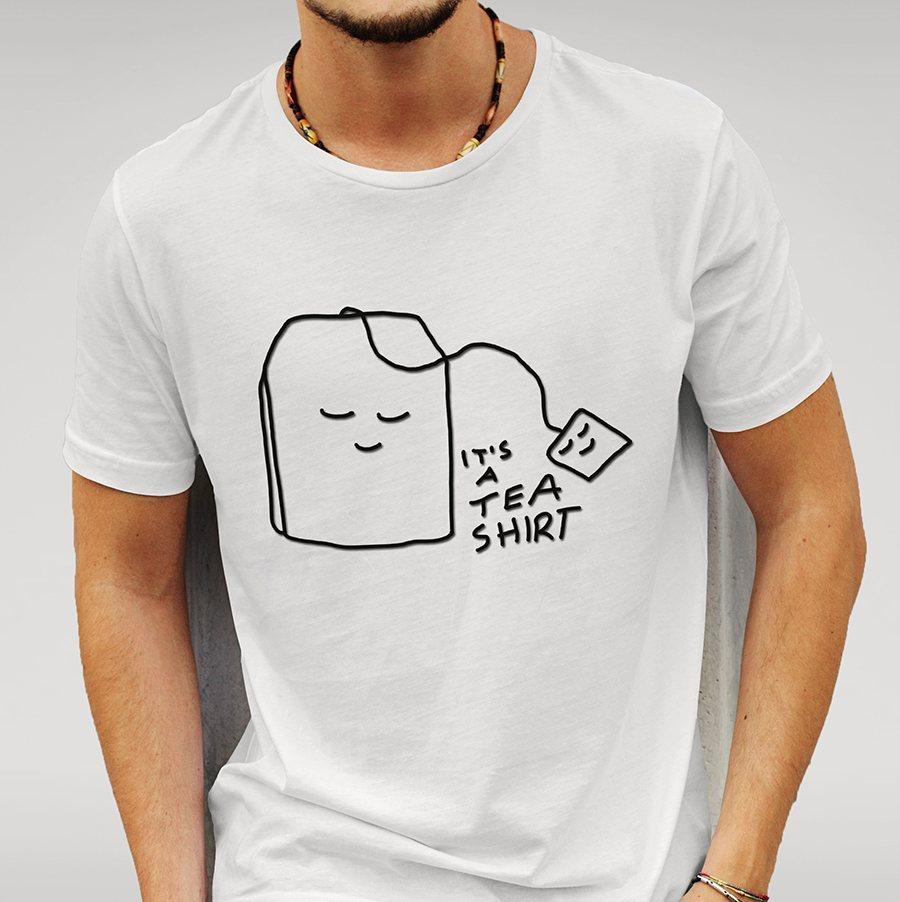 it is a tea shirt