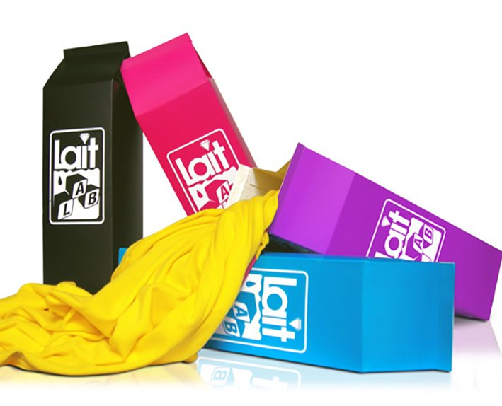 packaging lait