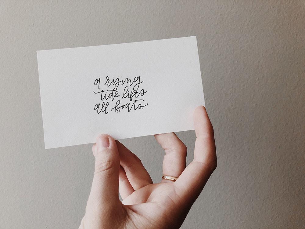 Marca personal - tarjeta de presentación
