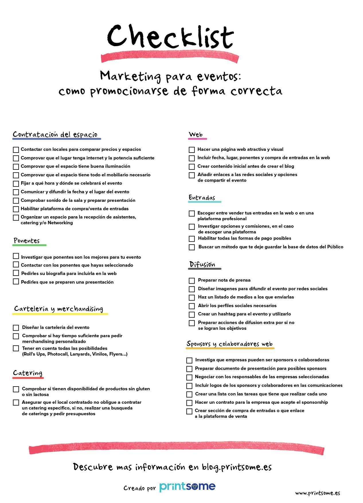 checklist marketing para eventos