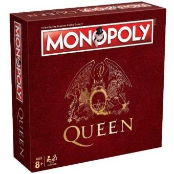 merchandising musical, queen, juego de monopolio