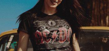 merchandising musical, camiseta ac dc