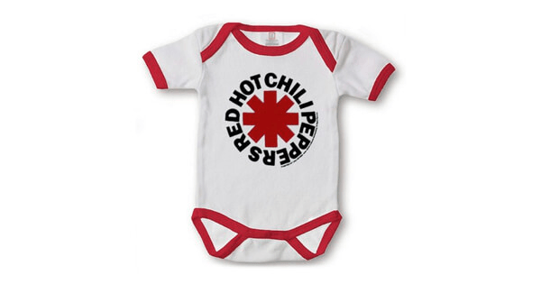 merchandising musical, red hot chili peppers