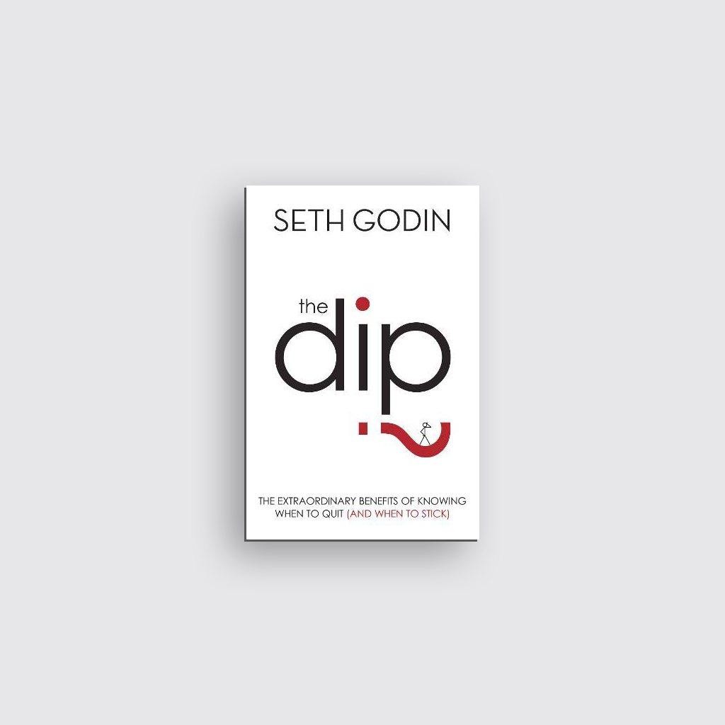 Libros sobre motivación personal - 'The Dip' de Seth Godin