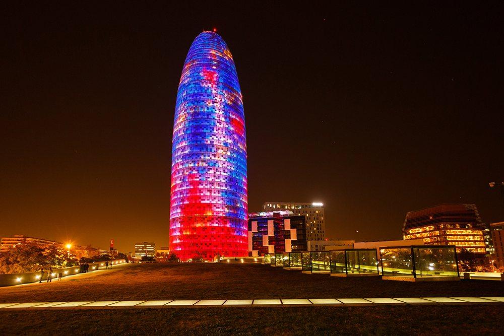 Startups España - Torre Agbar en Barcelona