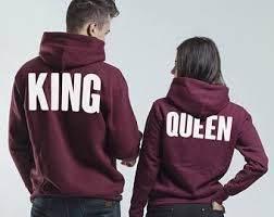 Sudaderas originales King&Queen