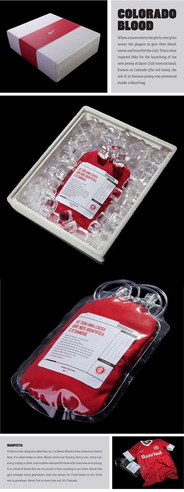 packaging de camisetas - donación de sangre
