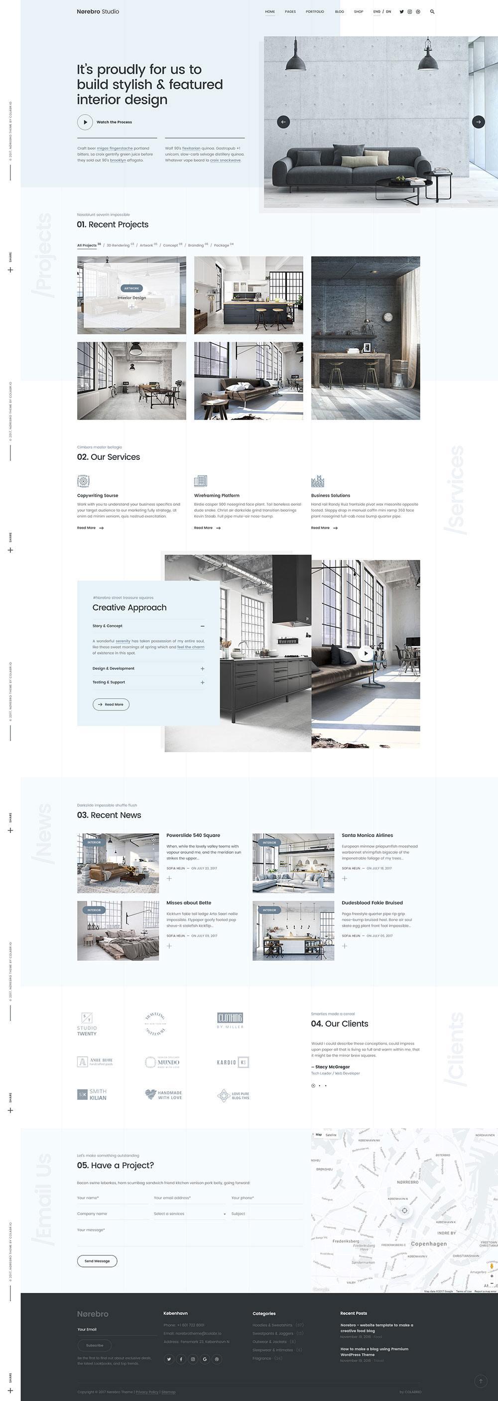 Tendencias diseño web 2019 - Minimalismo