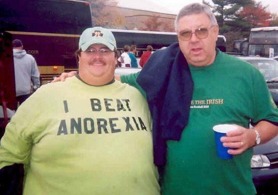 Fail de camiseta - Anorexia