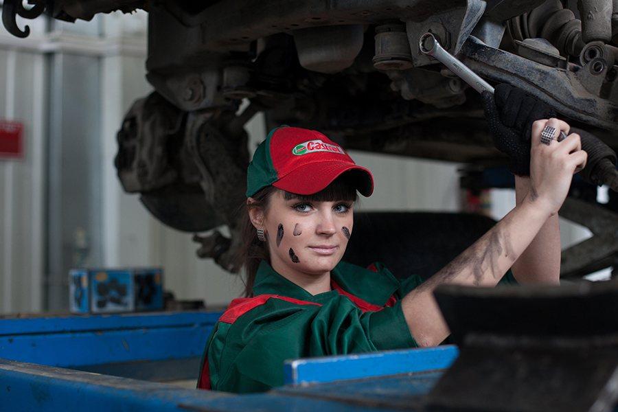 uniformes laborales para mujeres