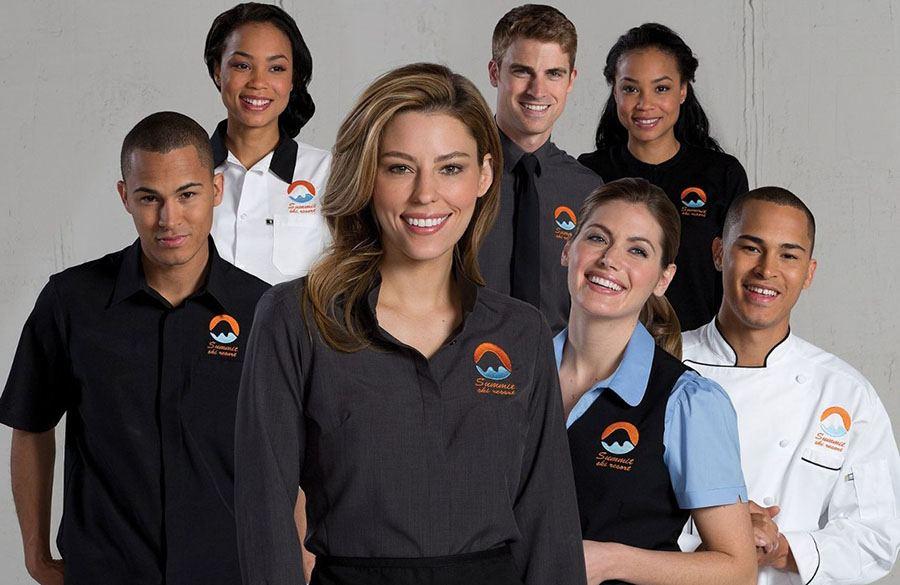uniformes laborales para equipos