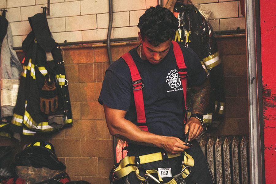 uniformes laborales para bomberos