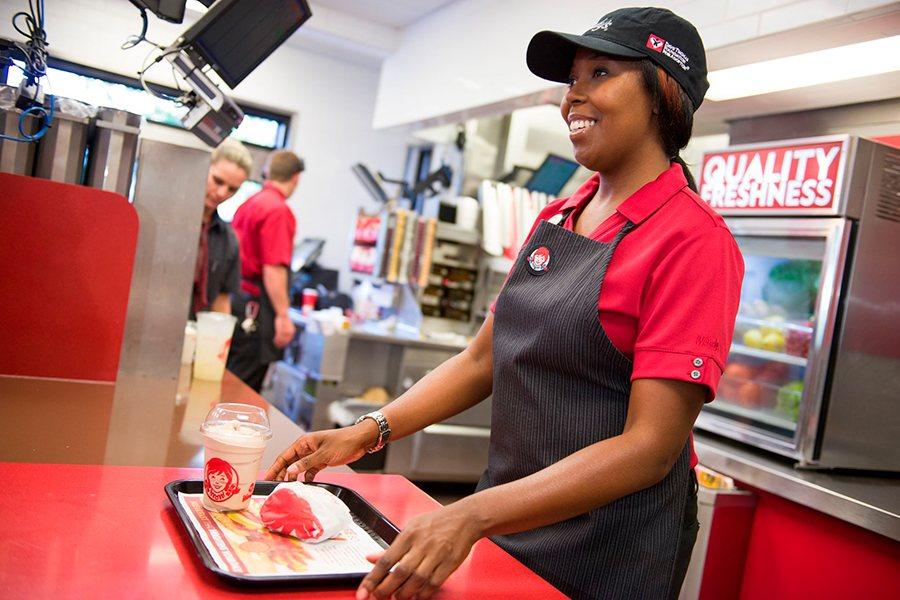 uniformes laborales para fast food