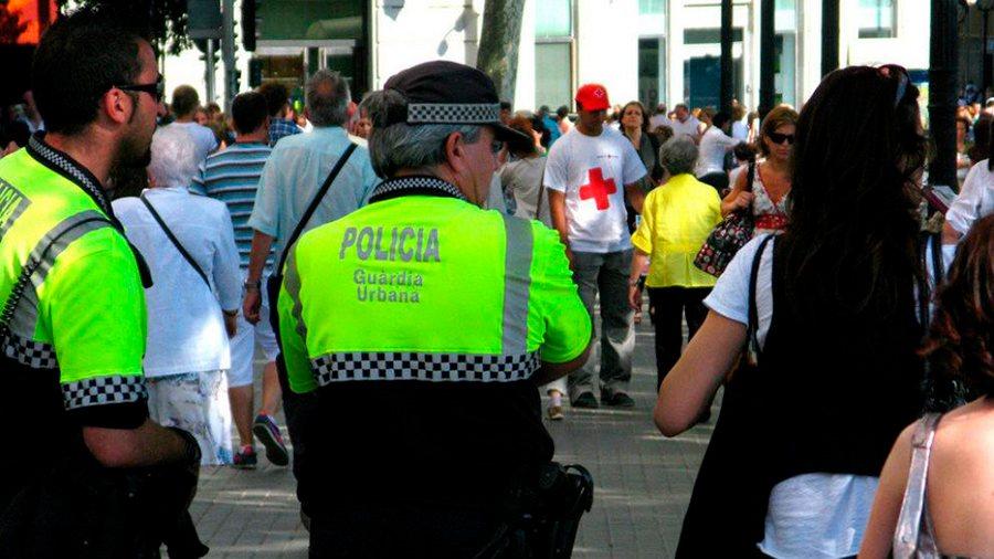 uniformes laborales para policia