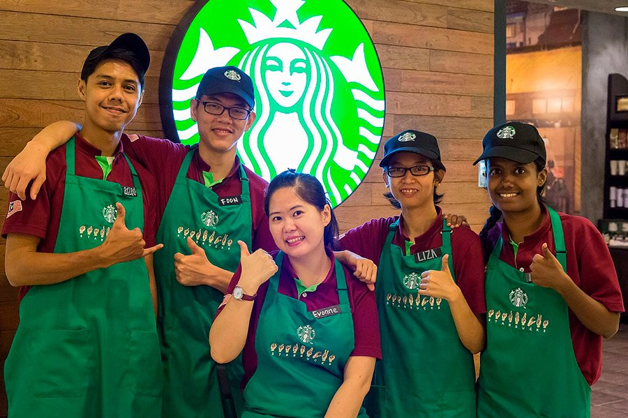 uniformes laborales para cafés